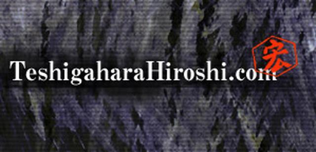 画像: TeshigaharaHiroshi.com - Contents