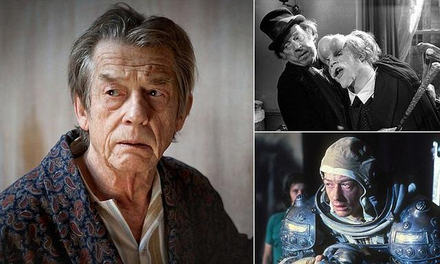 画像: BREAKING NEWS: Actor John Hurt dies from cancer aged 77