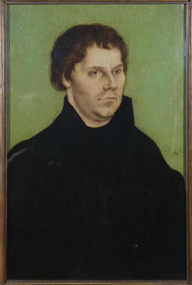 画像: ルカス・クラーナハ(父)《マルティン・ルター》1525年ブリストル市立美術館© Bristol Museums, Galleries and Archives