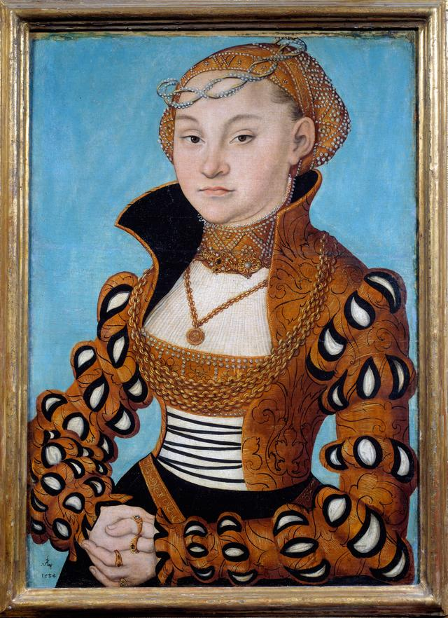 画像: ルカス・クラーナハ(父)《ザクセン公女マリア》1534年リヨン美術館© Photo Josse/ Scala, Florence