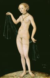 画像: ルカス・クラーナハ(父)《ヴィーナス》1532年シュテーデル美術館、フランクフルト© 2016 DeAgostino Picture Libars/ Scala, Florence