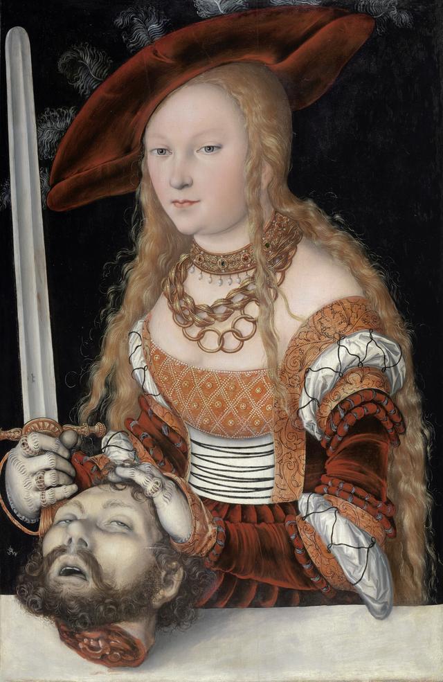 画像: ルカス・クラーナハ(父)《ホロフェルネスの首を持つユディト》1525/30年頃ウィーン美術史美術館© KHM-Museumsverband