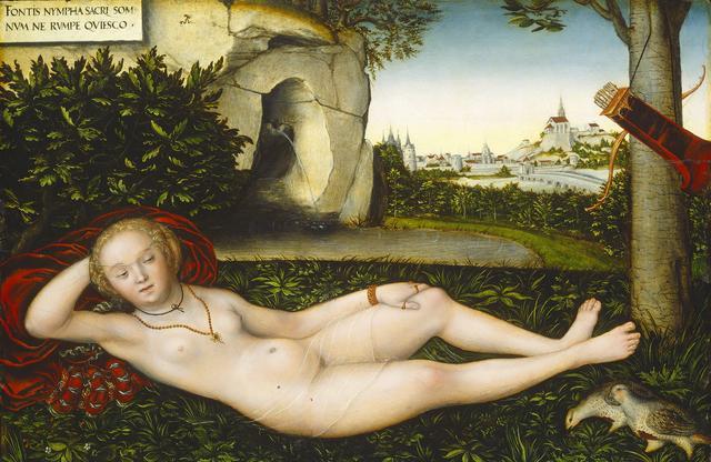 画像: ルカス・クラーナハ(父)《泉のニンフ》1537年以降ワシントン・ナショナル・ギャラリー© Courtesy National Gallery of Art,Washington