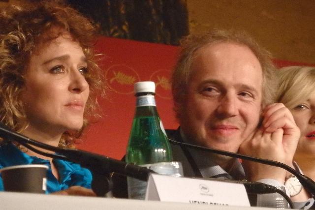 画像: ヴァレリア・ゴリノ(左)とアルノー・デプレシャン Photo by Yoko KIKKA