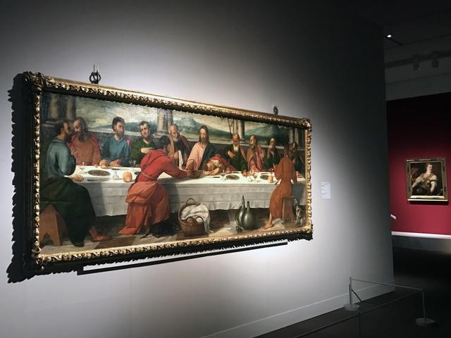 画像: ボニファーチョ・ヴェロネーゼと助手《最後の晩餐》1540-45年、油彩/カンヴァス、118x332cm、フィレンツェ、ウフィツィ美術館 photo©cinefil