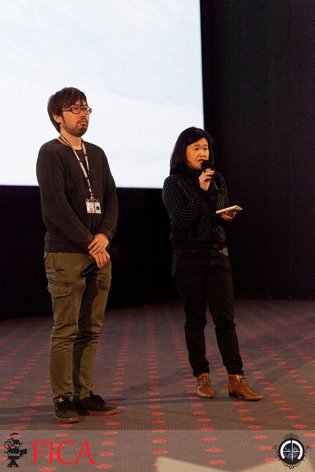 画像: ©Frederic AMBROISINE 映画祭 Q&Aでの春本雄二郎監督