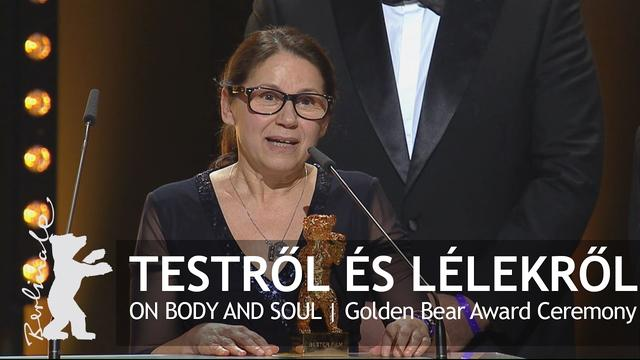 画像: Testről és lélekről | Golden Bear Award Ceremony | Berlinale 2017 youtu.be