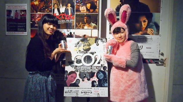 画像: (左)藤村明世監督 (右)辻凪子さん