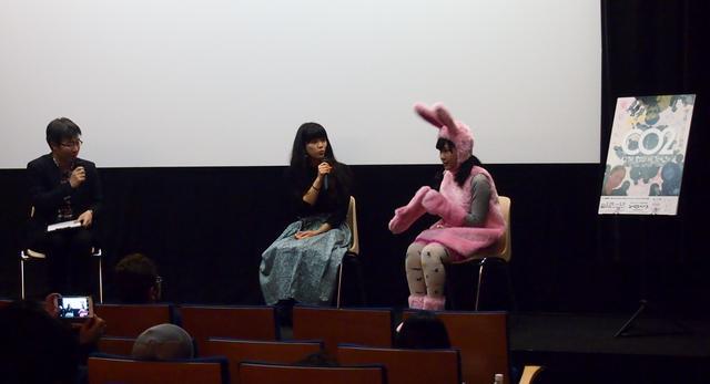 画像: 上映後トークショーの様子