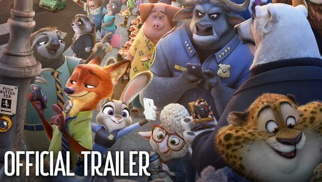 画像: Zootopia Official US Trailer #2 youtu.be