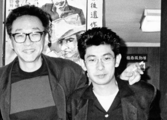 画像: 当時の永瀬正敏とエドワード・ヤン