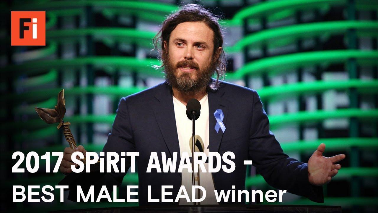 画像: Casey Affleck wins Best Male Lead at the 2017 Film Independent Spirit Awards youtu.be