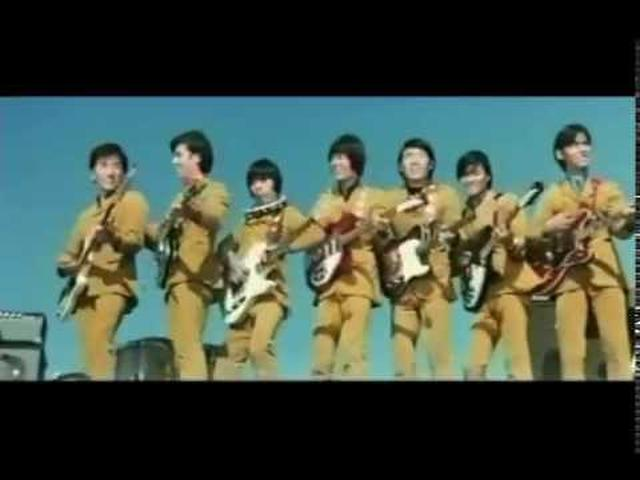 "画像: The Spiders! From the 1968 film, ""Go Forward!"" youtu.be"