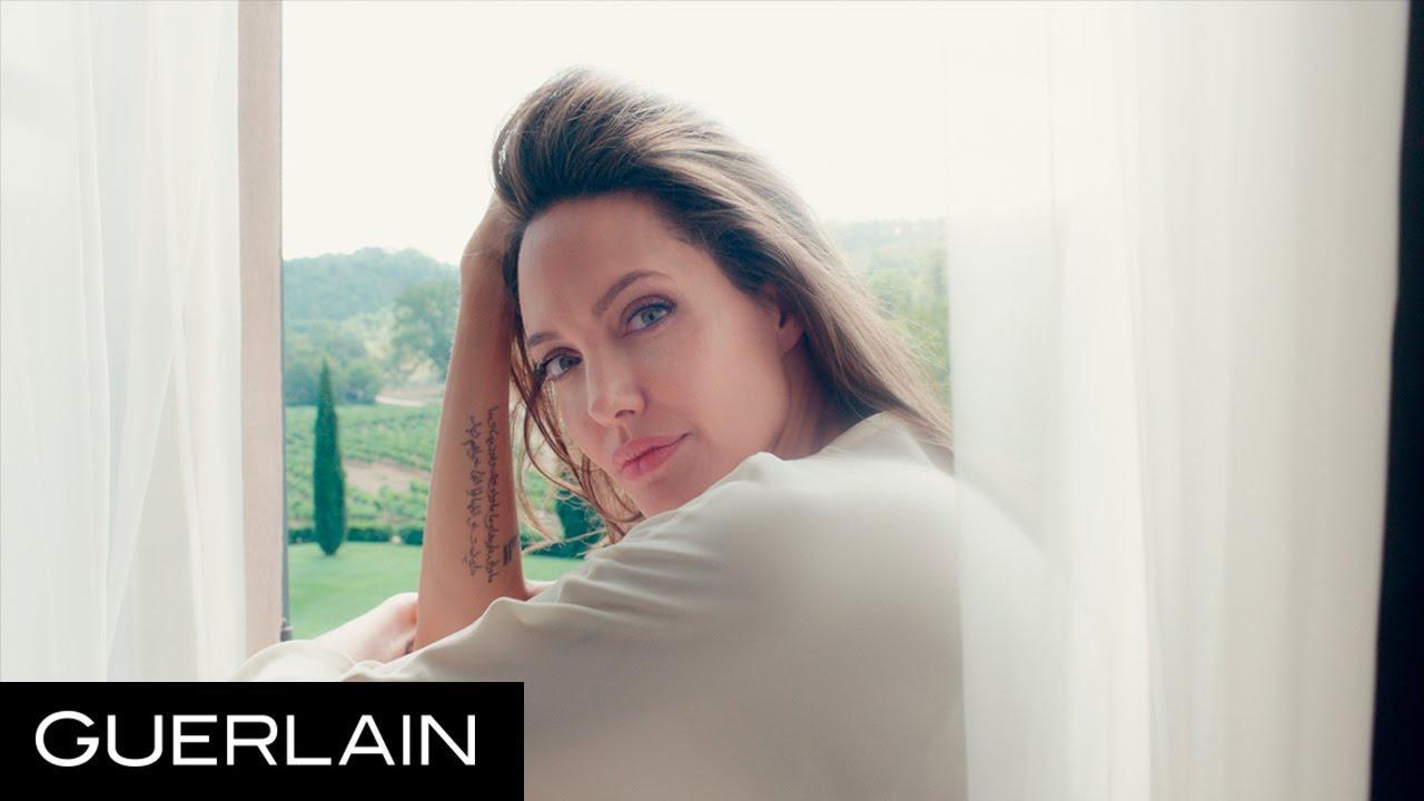 画像: Mon Guerlain - Angelina Jolie in 'Notes of a Woman' - Long Version - Guerlain youtu.be