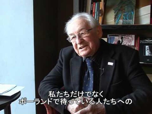 画像: ワイダ監督、「カンヌ映画祭」と「祖国」への思いを語る youtu.be