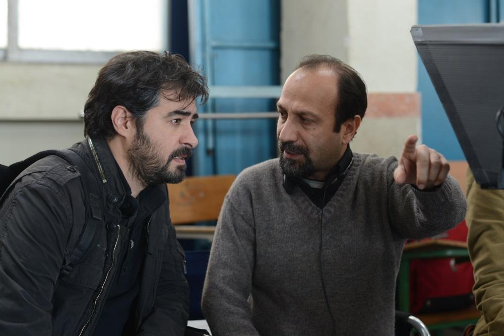 画像: シャハブ・ホセイニと監督
