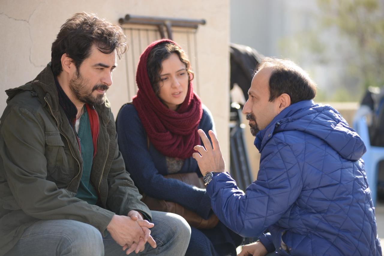 画像: アスガー・ファルハディ監督とシャハブ・ホセイニとタラネ・アリドゥスティ