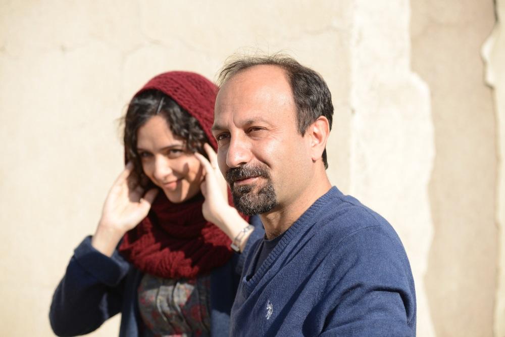 画像: アスガー・ファルハディ監督とタラネ・アリドゥスティ