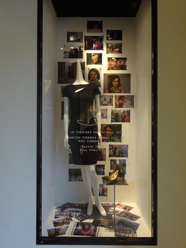 画像: ■福岡店では、ディオールの黒のドレスを実際に見ることができます。