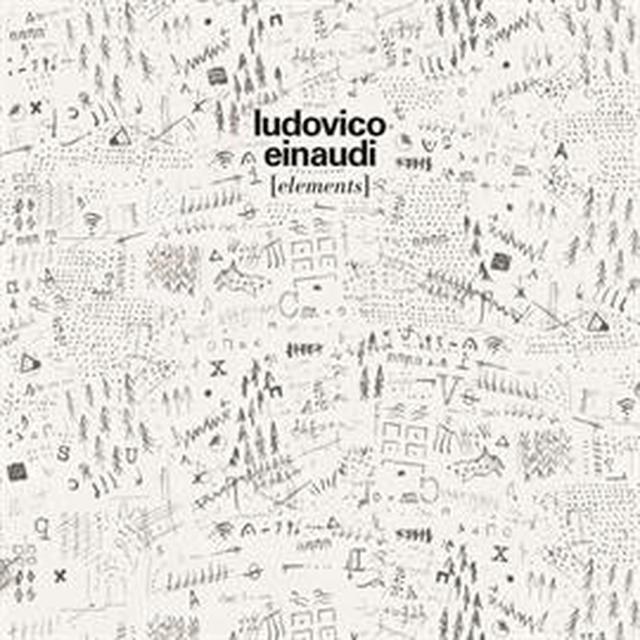 画像: Ludovico Einaudi/ELEMENTS (ユニバーサル ミュージック) SHM-CD: UCCL-1192 \2,500(税抜) 1. 雨の匂い(ペトリコール) 2. 夜 3. 滴る雫(しずく) 4. 四次元 5. 四大元素(エレメンツ) 6. 渦を巻く風 7. ひとつがふたつに 8. ABC 9. 高まる数10. 山の孤独 11. いにしえの言葉(ロゴス) 12. ギャヴィンに捧げる歌