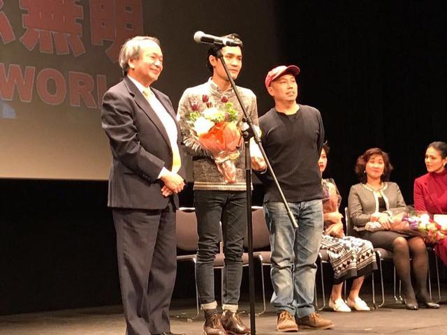 画像: 写真中央 (center):ウォン・ジョン (黃進) WONG Chun 監督 写真右(right):審査委員 Jury ホー・ユーハン(何宇恆)HO Yuhang 監督 www.facebook.com
