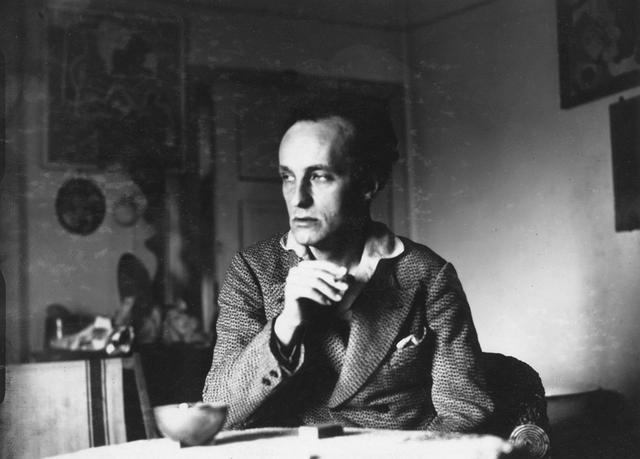 画像: Władysław Strzemiński, 1932, photo: Narodowe Archiwum Cyfrowe (NAC) culture.pl