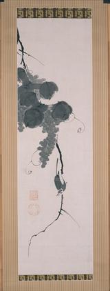 画像: 葡萄小禽図