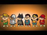 """画像: """"DC×鷹の爪"""" 映画『DCスーパーヒーローズvs鷹の爪団』プロジェクト特報 youtu.be"""