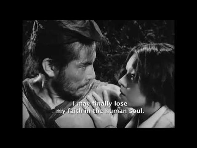 画像: Rashomon Trailer (Akira Kurosawa, 1950) youtu.be