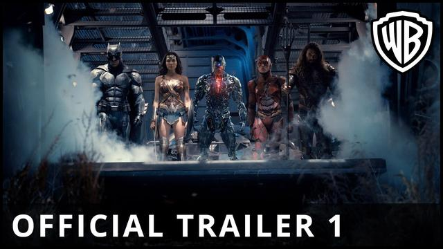 画像: Justice League - Official Trailer 1 - Warner Bros. UK youtu.be
