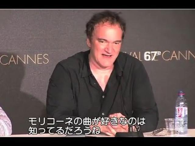 画像: カンヌ映画祭 タランティーノ記者会見 『パルプ・フィクション』20周年 youtu.be