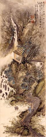 画像: 富岡鉄斎 掃蕩俗塵図 全図 大正6年(1917)