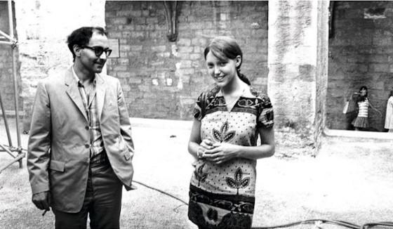画像: 当時のジャン=リュック・ゴダールとアンヌ・ヴィアゼムスキー www.cinechronicle.com