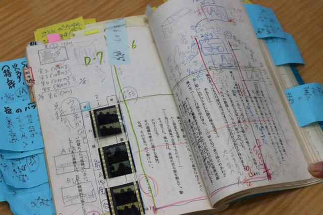 画像5: 野上照代さんが当時使われた台本を公開!