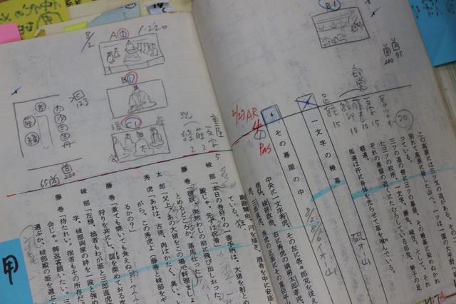 画像4: 野上照代さんが当時使われた台本を公開!