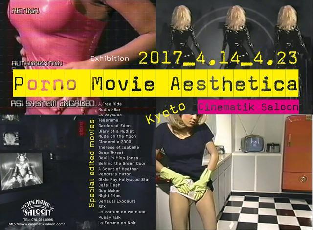 画像: 『ポルノ・ムービーの映像美学』(長澤 均 著)に連動して企画された 展覧会【ポルノ・ムービー・エステティカ】、京都巡回展がいよいよ始まる!