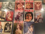 画像: 1935年の『SEX APPEAL』など、30年代から50年代のフランスのヌード雑誌の実物展示