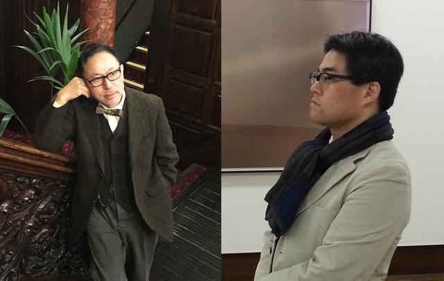 画像: (左)長澤 均と(右)西田博至 4月22日開催 トークイベント「都市論からポルノにまで通底する長澤の視覚文化への偏愛」
