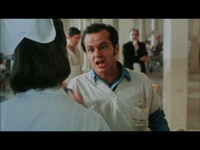 画像: One flew over the cuckoo's nest - Trailer - HQ youtu.be