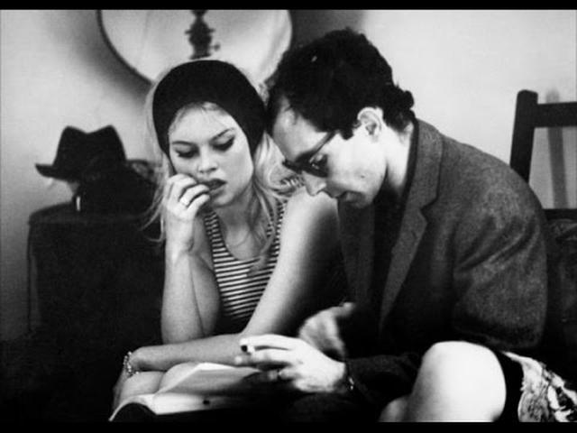 画像: Behind the scenes footage of Jean-Luc Godard's LE MEPRIS / CONTEMPT (1963) youtu.be