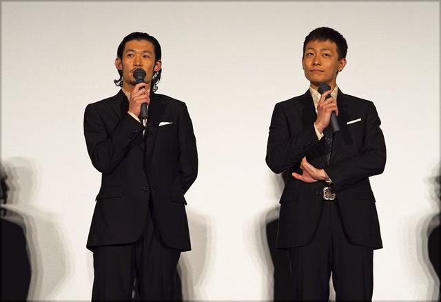 画像: 主演の淵上泰史さん、田中俊介さん
