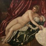 画像: ティントレット(ヤコポ・ロブスティ)《レダと白鳥》 1551-55年頃 ウフィツィ美術館 © Gabinetto Fotografico delle Gallerie degli Uffizi
