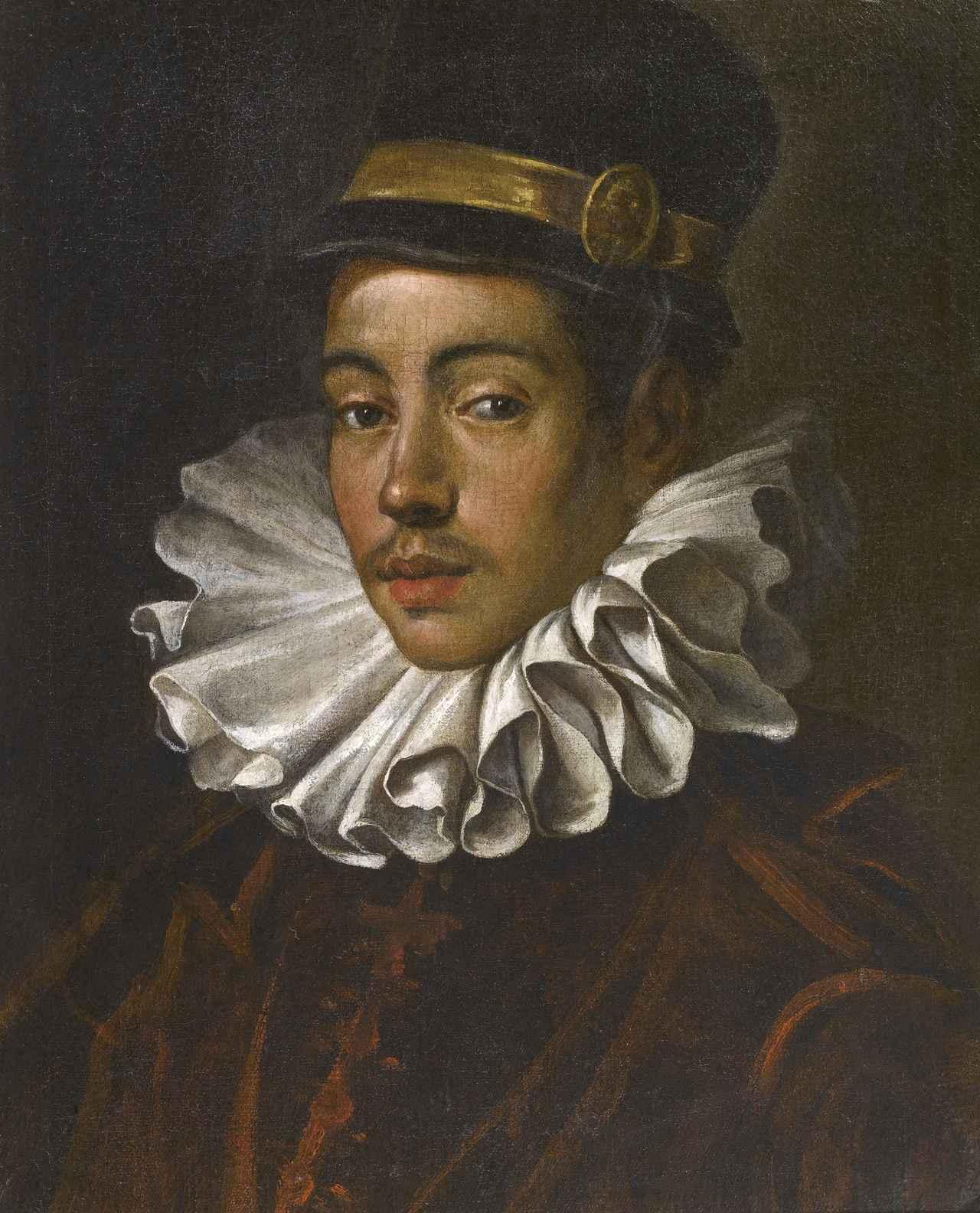 画像: ドメニコ・ティントレット《伊東マンショの肖像》 1585年 トリヴルツィオ財団