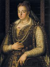 画像: アレッサンドロ・アッローリ派《ビアンカ・カペッロの肖像》1578年以降ウフィツィ美術館、パラティーナ美術館© Gabinetto Fotografico delle Gallerie degli Uffizi