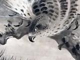 画像: 雪村周継《松鷹図》部分 東京国立博物館蔵 photo©cinefil