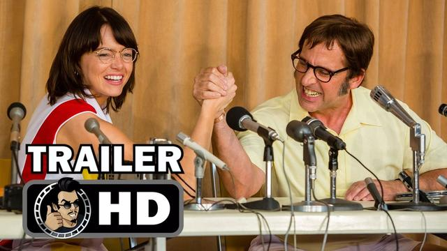 画像: BATTLE OF THE SEXES Trailer #1 (2017) Steve Carell, Emma Stone sports comedy youtu.be