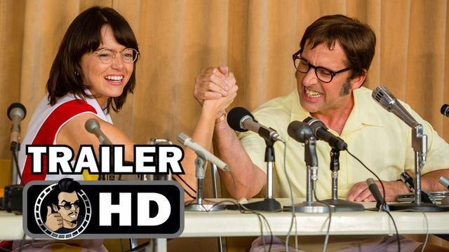 画像: BATTLE OF THE SEXES Trailer #1 (2017) Steve Carell, Emma Stone sports comedy youtu.be