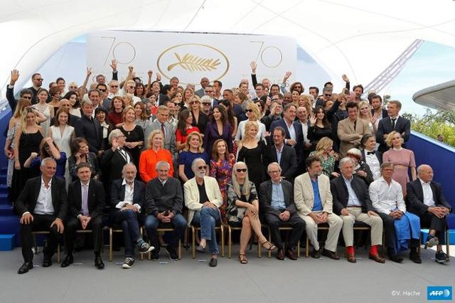画像: Cannes Film Fest 70th Anniversary Family Portrait Captures International Cinema