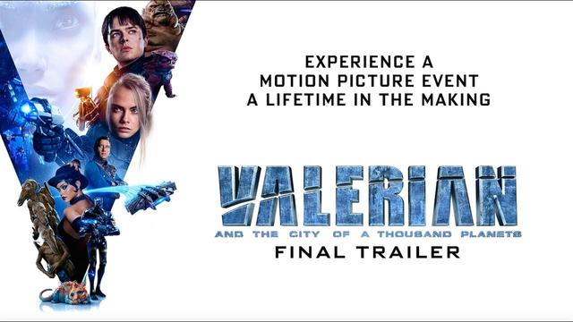 画像: Valerian and the City of a Thousand Planets | Final Trailer | In Theaters July 21, 2017 youtu.be