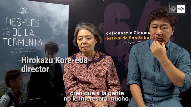 画像: 22 Entrevista UMI YORIMO MADA FUKAKU : AFTER THE STROM Hirokazu Kore eda, Kirin Kiki voja s es youtu.be